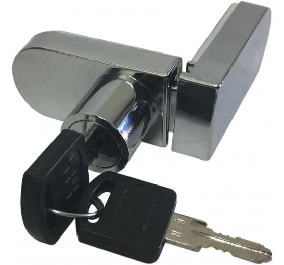 "CRL ""No-Drill"" Showcase Lock - Keyed Alike"