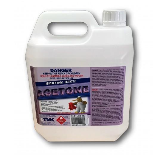 Acetone Solvent Cleaner -    (4 Litre)