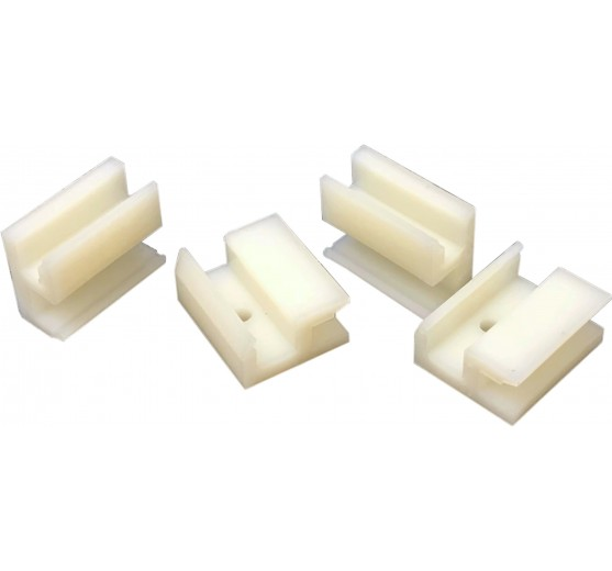 Klikit™ Mounting Clips - (4mm Mirror)