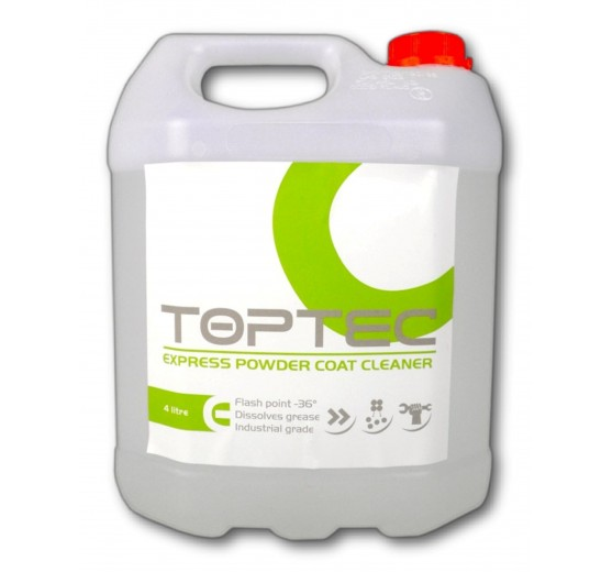 Toptec Express Powder Coat Cleaner - (4 Litre) -  Fast Evaporation