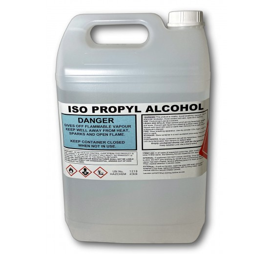 Isopropyl Alcohol Solvent Cleaner - (5 Litre)