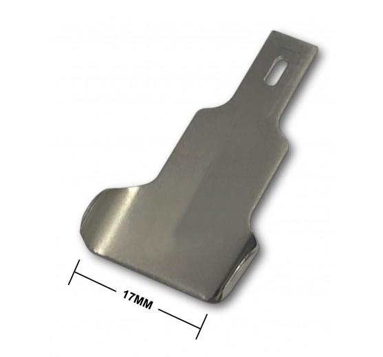 Curved Edge Pinchweld Scraper Blade - 17mm