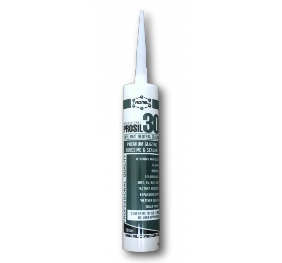 Admil Prosil 30 (Neutral Cure) Silicone Sealant - Translucent
