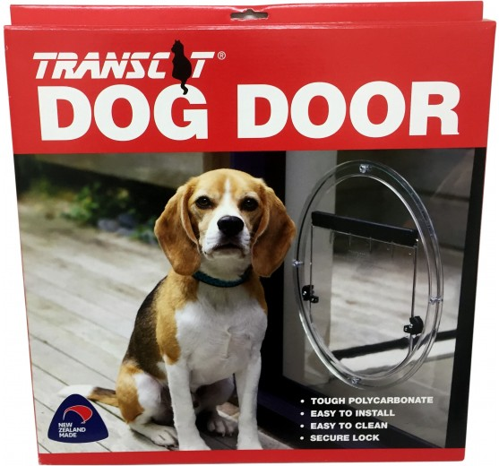 Transcat Dog Door Clear Glass Tools Accessories Ltd
