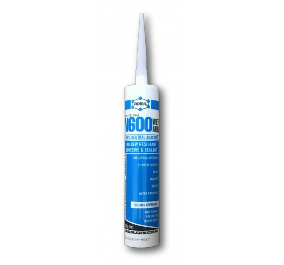 Admil Wet-Area (Neutral Cure) Sanitary Silicone Sealant