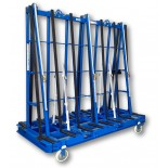 Aacken Oceania A-Frame Glass Trolley - 2310mm