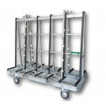 Aacken Economy Rack A-Frame Trolley - 1880mm
