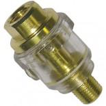 "BSP 1/4"" Inline Mini Oiler"