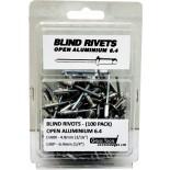 Aluminium Blind Rivets - 6.4mm