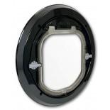 Catwalk Glass Fitting Maxi Dual Glaze - Black