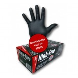 "High-Five ""Black"" (Nitrile) Disposable Gloves - Extra Large"