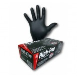 "High-Five ""Black"" (Nitrile) Disposable Gloves - XXL"