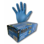 "High-Five ""Blue"" (Nitrile) Disposable Gloves - Large"