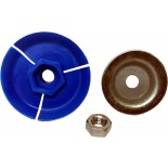 "Svenic / COX, Genuine ""Blue"" Backing Plate Set"