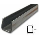 Universal Doorglass Bottom Channel - 1.200mm