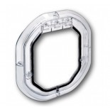 "Dogwalk Glass Fitting ""Intermediate"" Dog Door (Slimline) - Clear"