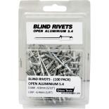 Aluminium Blind Rivets - 5.4mm