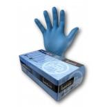 Bastion Nitrile Disposable Gloves (Blue) - Medium