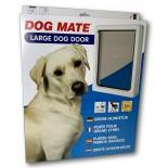 Dog Mate Wood Fitting (Large) Dog Door - White