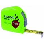 Fisco Pro-Lite (Fluorescent) Measuring Tape - 5M