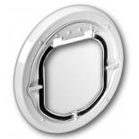 Catwalk Glass Fitting Maxi Dual Glaze - White