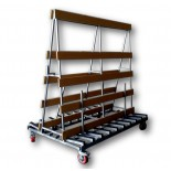 GTA Factory Glass Trolley - 2000mm