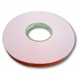 Double-Sided Solvent Acrylic White Tissue Tape - (1.1mm x 18mm)