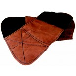 Leather Wrist Gauntlets - Large