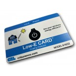 CRL Low-E Identification Card