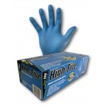 """High-Five """"Blue"""" (Nitrile) Disposable Gloves - Extra Large"""
