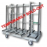 Aacken Economy Rack A-Frame Trolley - 2300mm