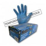 """High-Five """"Blue"""" (Nitrile) Disposable Gloves - Small"""