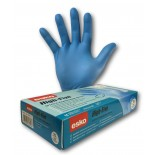 "High-Five Sensor Touch (Nitrile) ""Blue"" Disposable Gloves - Large"