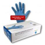 Medical Grade Blue Nitrile Disposable Gloves - Medium