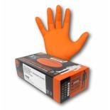 Armour Orange (Nitrile) Disposable Gloves - Medium