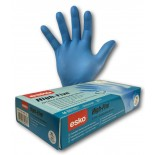 "High-Five Sensor Touch (Nitrile) ""Blue"" Disposable Gloves - Medium"
