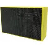Diamond Hand Pads - (Sponge Backed) - Yellow (Fine Grit)