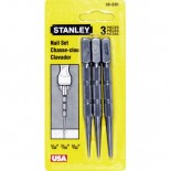 Stanley Nail Punch Set - (3 Piece)