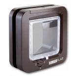 """Sureflap Standard Microchip """"Cat Door"""" - Brown"""