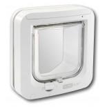 """Sureflap Standard Microchip """"Cat Door"""" - White"""