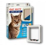 Cat Mate Wood Fitting (Large) Cat Door - White