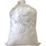 Cleaning Rags, White Cloths - (Lint Free)