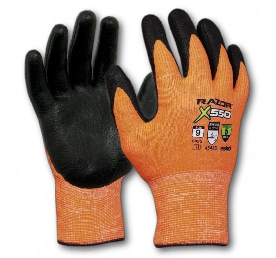 "Razor ""High-Visibility"" Cut Level 5 Gloves - Extra Large"
